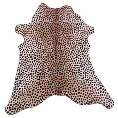 """Cheetah Print Calf Skin Size: Around 35"""" X 30"""" Cheetah Print Mini Cowhide"""