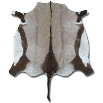 Gemsbok Skin Rug Approximate Size: 5 X 5 feet Antelope Rug Deer Rug