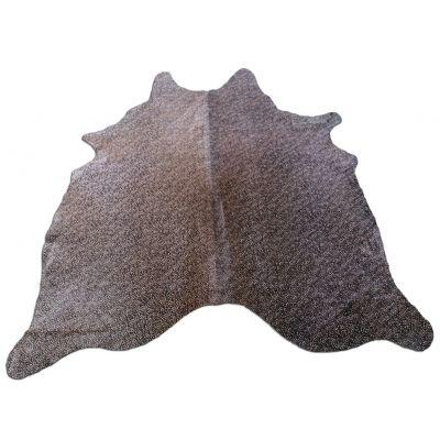 Cheetah Print Cowhide Rug Size: 6 1/2' X 6 1/4' Beige/Black Cheetah Cowhide Rug K-175