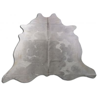 Speckled Grey and White Cowhide Rug Size: 7' X 7' Grey/White Cowhide Rug O-817