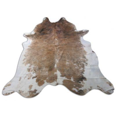 Speckled Cowhide Rug Size: 8' X 7 1/2' Beige/White Cowhide Rug O-855