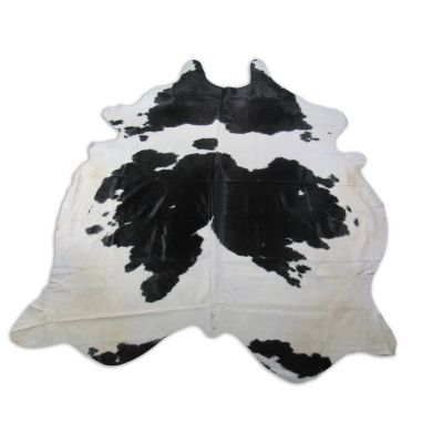 Spotted Cowhide Rug Size: 9' X 7' GIANT Black/White Cowhide Rug O-962